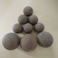Quality No Breakage B4 HRC55 Forged Steel Grinding Balls for sale