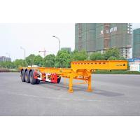 China Gooseneck Container Trailer Chassis For 40 Feet Shipping Container on sale