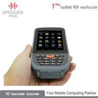 China Grey PDA Intelligent Bluetooth Thermal Printer Hand Held IP65 3C ROHS on sale
