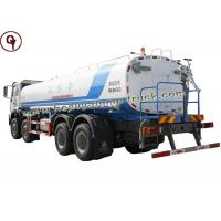 Quality 30 Cubic Water Sprinkler Truck , Water Tanker Lorry Steel Tank Material for sale
