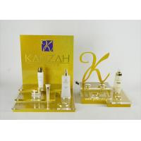 China Acrylic Cosmetic Display Retail Counter Display Two Sets Refined Logo Cut on sale