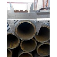 Quality 6M - 12M Length Round ERW steel pipe / cold drawn steel tubes DN40 for sale