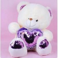 Buy cheap Plush love bear toy from wholesalers