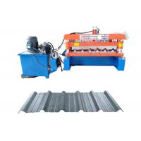 Quality IBR Trapezoidal Profile Metal Tile Roofing Sheet Roll Forming Making Machine for sale
