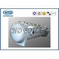 Subcritical Recirculation Boiler Steam Drum Carbon Steel 96mm Thickness