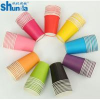 Quality PE Coated Juice / Coffee Paper Cup Fan Sheet Single / Double for sale