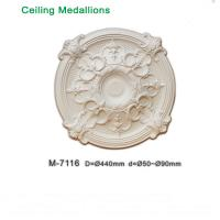 Quality Hot Sale Decorative PU Ceiling Medallions for modern decoration for sale