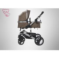 Quality Aluminium Alloy High Landscape Baby Stroller Silver Frame 0 - 36 Months for sale