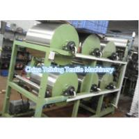 top quality 6 cylinders  finishing and starching machine for woven ribbon, elastic webbing,belt China factory Tellsing
