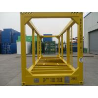 China 20ft High Cube Container Frame , ISO Shipping Container Steel Customized Size on sale