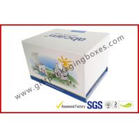 Fashion Coated Paper Board Box, Rectangle Printed Rigid Gift Boxes For With Custom Logo