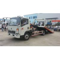 Quality Light Flatbed Special Purpose Truck , Rotator Tow Truck With Cummins Engine for sale
