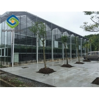 China 10.8m Cucumber Glass Greenhouse Intelligent Automatic Control on sale
