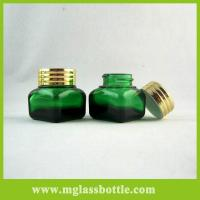 Quality Square cosmetic bottles small glass jars glass containers wholesale for sale