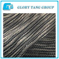 Quality 2017 popular 100% polyester knitted fabric for lady's dress and coat for sale