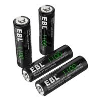 Quality 1100mAh AA Rechargeable Batteries, 1.2V NiCd Rechargeable Battery for sale
