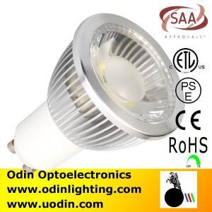 China gu 10 led lamps dimmable energy star etl cob led spotlight on sale