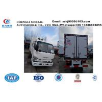 Quality HOT SALE! wholesale ISUZU double cabs 2tons cold room truck, factory selling best price Isuzu EuroⅤ chiller van truck for sale