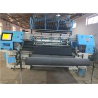 China 96 Industrial Two Needle Rows Multi Needle Quilting Machine 80mm Quilting Thickness on sale