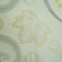 Quality 100% Polyester Beige 220cm Jacquard Jersey Fabric For Mattress Cover for sale