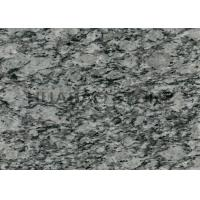 Quality White Decorative Granite Slab Tiles Stain Resistant Commercial Architectural Design for sale