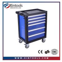 Quality 2018 new design cheapest workshop car repair tool trolley with tools for sale