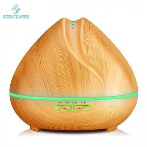 Quality Wood Grain Home Ultrasonic Aroma Diffuser 300ml Humidifier for sale