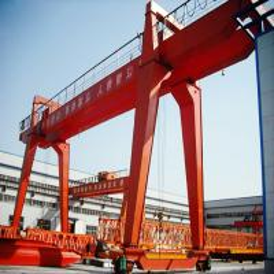 China 100 Ton Double Girder Gantry Crane / Rail Mobile Container Gantry Crane on sale