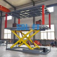 Quality Heavy - Duty Hydraulic Car Lift For Basement Car Elevator Parking Systems for sale