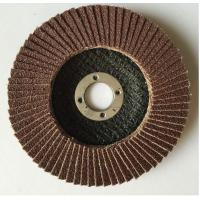 China 125mm Aluminum Oxide grinding flap disc for metal grinding abrasive on sale