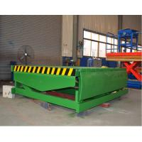 Quality Fixed Hydraulic Truck Ramp Automatic Dock Levelers with Anti Skid Checkered Steel Plate for sale