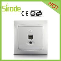 Quality Wall Insert Single Electrical RJ11 Jack Socket Outlet for sale