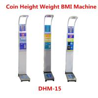Quality Ultrasonic Height Measuring Scale , Height And Weight Machine With Music for sale