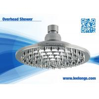Quality Rain And Waterfall Plastic Chrome Round 6 Inch Overhead Shower Head For Bathtub for sale