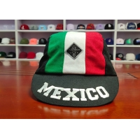 China Special Design mix Color Panel Custom Your Own Mexico Logo Sport Caps Hats on sale