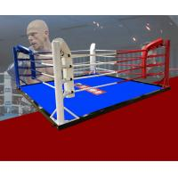 China Size3*3m/ 4*4m/5*5m/6*6m/7*7m/7.8*7.8m Boxing Ring/Floor Boxing Ring Colour custom your logo on sale