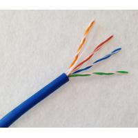 Quality Indoor UTP Cat6a Lan Cable 23AWG Solid Pure Copper With PVC / LSZH Jacket for sale