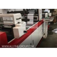 Quality 370 PLUS IML Die Cutting Automatic Stacking Converting Machine For Beer Labels for sale