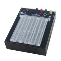 Quality Transparent 2390 Points Powered Breadboard ABS Solderless Breadboard Power for sale