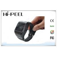 Quality Black SIM Card GSM Wrist Watch Phone , Kids Cell Phone Watch for sale