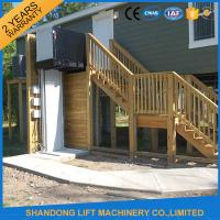 Quality Wheelchair Hydraulic Platform Lift ,  Residential Vertical Wheelchair Lifts for Homes for sale