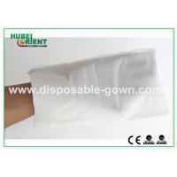 Quality White Hospital Disposable Products Disposable Wiping Cloth Free Size , CE Certificates for sale