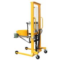 China 1600mm Lifting Height Vertical Drum Lifter , Oil Drum Lifter on sale
