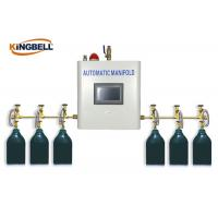 Quality Automatic Medical Gas Manifold PLC Control Brass Gas Type Oxygen for sale