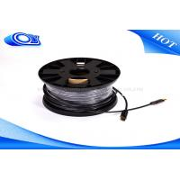 Quality Customized Extra Long 2.0 HDMI Fiber Optic Cable With Low Power Consumption for sale