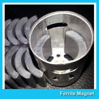 Quality C5 Grade Permanent Ferrite DC Motor Magnet High Performance R13.15*R8.8*H21mm for sale