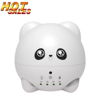 China Cute panda Essential Oils Diffuser 300ml Cool Mist Air Mini Humidifier Ultrasonic Aromatherapy 7 LED Colored Light on sale