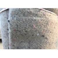 Quality Grey Felt Backed Carpet Underlay Laying Cloth with Spunlace Coated for sale