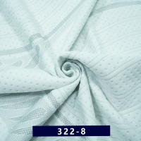 Quality Customizable  2.2m 220g Green Ticking Fabric By The Yard for sale