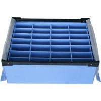 Large Conductive Fire Resistance Corrugated Plastic Boxes For Partition